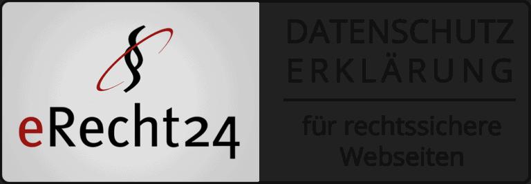 erecht24 schwarz datenschutz gross